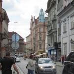 Straße in Pilsen