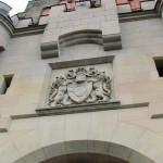 Wappen am Torhaus