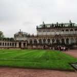Grünfläche im Zwingerhof